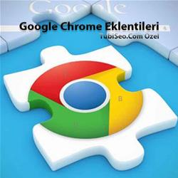 Google Chrome Web Browser Eklentileri
